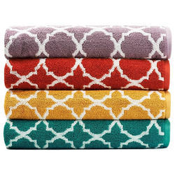 Designer Jacquard Bath Towel