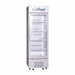 Ceramic White Celfrost Visi Cooler Showcase, Storage Capacity: 320 L