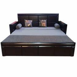 wooden sofa cum bed at rs 24500 piece sector 12 noida id rh indiamart com Sofa Come Bed Sofa Bed Designs