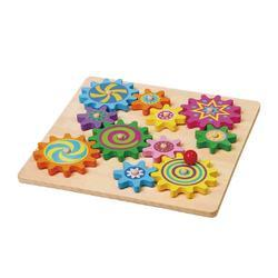 Puzzle And Spinning Gears Educational Toys