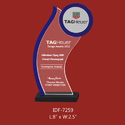Transparent Acrylic Awards Trophy, Packaging Type: Box