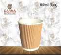 180 Ml (6oz) Ripple Paper Cup
