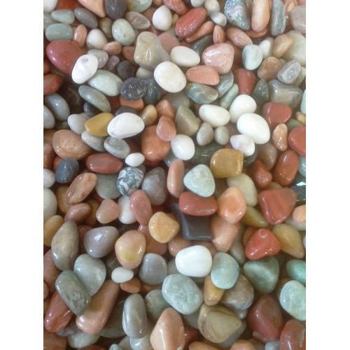 Coloured Pebble Stone Usage Decoration Shree Stones Decor Id