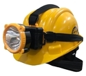 Hdpe Safety Helmet With Head Lamp, Application:construction
