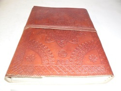 Embossed Designer Leather Journal
