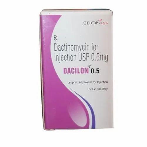 Dacilion Dactinomycin 0.5mg Injection