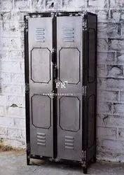 Vintage Industrial Metal Locker from Restaurants