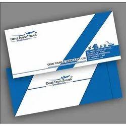 Printed Paper Envelope, Packaging Type: Packet