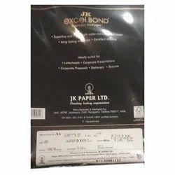 JK Excel Bond Superwhite A4 Bond Paper, GSM: 100, Packing Size: 1000 Sheets Per Pack