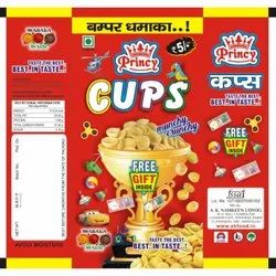 Princy Crunchy Wheat Cups, Packaging Type: Pouch