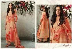 Reyna Sapphire Fancy Salwar Suit