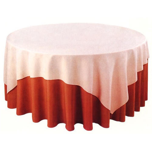 Delicieux Pink And Red Round Table Frill