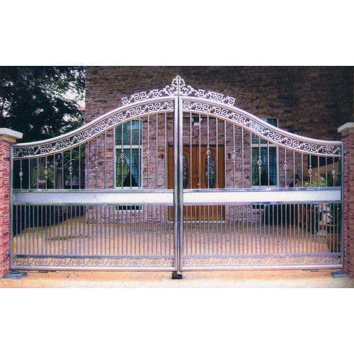 Stainless Steel Gate - Stainless Steel Outdoor Gate