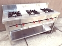 Three Burner Indian Cooking Range