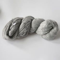 Acrylic Grey Hank Yarn