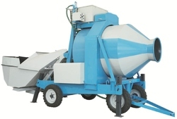 Automatic Mild Steel Reversible Mixer, Capacity: 1200/1600 L