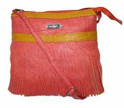 Pink Jhalar Design Sling Bag
