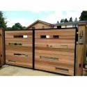 Wood Designer Gate