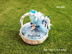 Baby Announcement Basket
