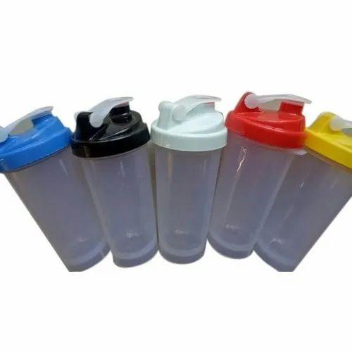 Ingawale Plastech Plastic Shaker Bottle, Capacity: 700 ml, Flip Top Cap