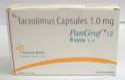 Pangraf 1 mg Tacrolimus Capsules