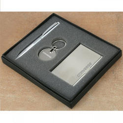 Card Organizer, Metal Pen and Key chain USB