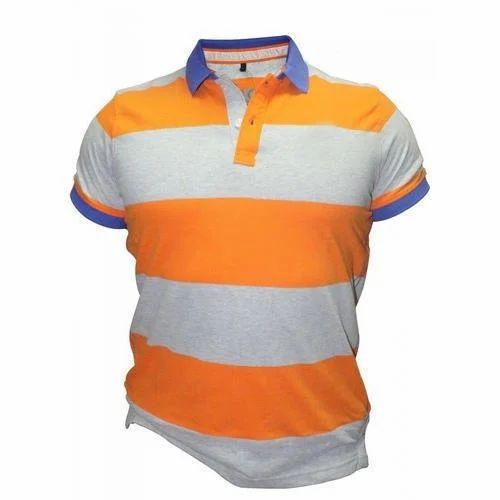 010cd2ea Cotton Men's Polo T-Shirt, Rs 350 /piece, Fancy Garments | ID ...