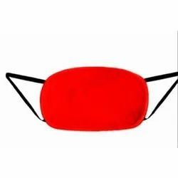 Red Disposable 6 Layer Safety Face Mask