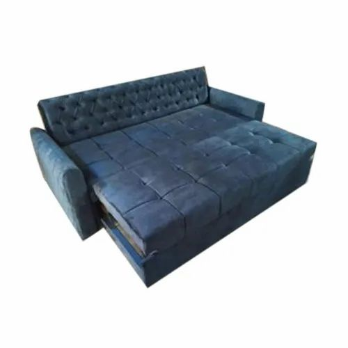 Blue Modern Convertible Sofa Bed Rs
