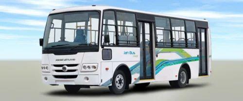 JanBus Midi BS3 D, 50 Seater Bus, Passenger AC Bus, पैसेंजर ...