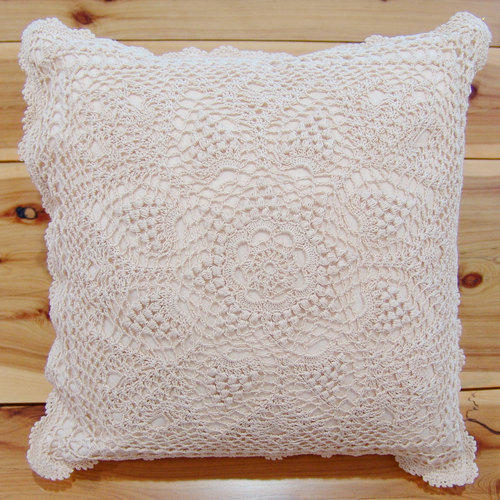Crochet Cushion Cover Cushion Cover Auarora Exports Gorgeous How To Crochet A Pillow Cover