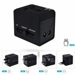 30-40 Kw Black Universal International Travel Adapter