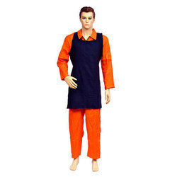 Blue Safety Cotton Apron