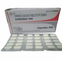 Ciprodac Tablets IP 500 MG