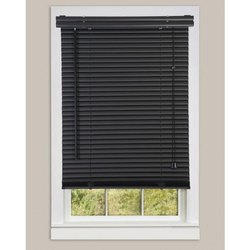 PVC Black Window Blinds, Thickness: 2-3 mm