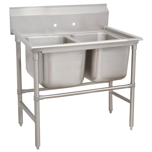 Laxmi Stainless Steel Double Bowl Kitchen Sink