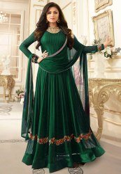 Designer  Embroidery Work Analkali Suit