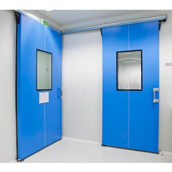 Clean Room Flush Door