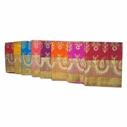Ladies Art Silk Saree, Length: 6.3 m