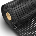 6 Ft Wide X 33 Ft Long - Hollow Rubber Mat Roll (Mini Holes) Non Skid Matting