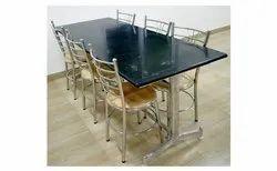 Stainless Steel Granite Dining Table