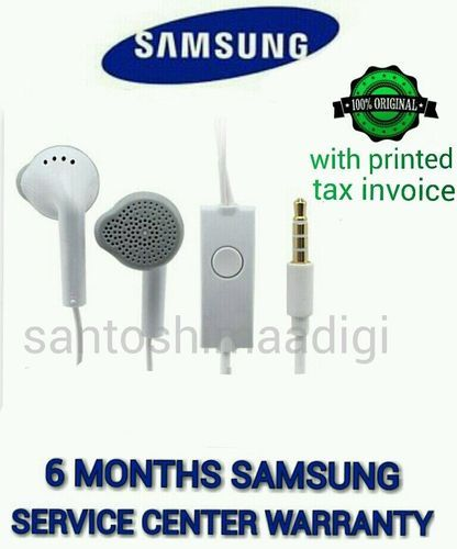 06a9ec23fe8 Original SAMSUNG 3.5mm Jack EHS61ASFWE Handsfree Headset Earphones with Mic  (Samsung Care Warranty)