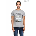 Mens Half Sleeves Cotton T-Shirt