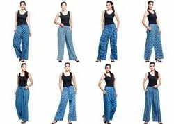 Indian Cotton Women Pant, Waist Size: 26 To 32