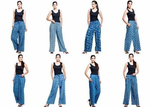 Indian Cotton Women Pant, Waist Size: 26 To 32