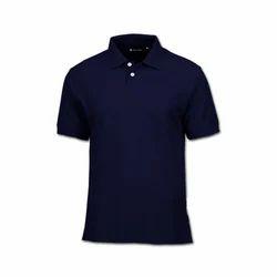 Black Casual Wear Polo T Shirt
