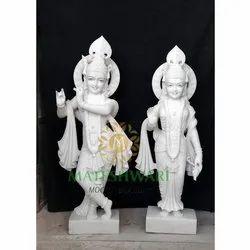 marble radha Krishna sclupture