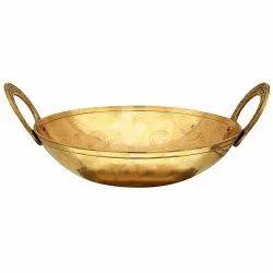 Brass Kadhai (Cookware)