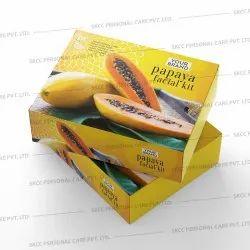 Cream Papaya Facial Kit, Packaging Size: 500g, for Face
