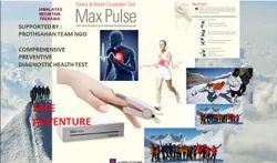 Male Fully Non Invasive Max Pulse STRESS TEST FOR EVERYONE Himalaya Trekking Health Test, ADULTS